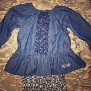 Lucky Brand Girls 2-piece Outfit